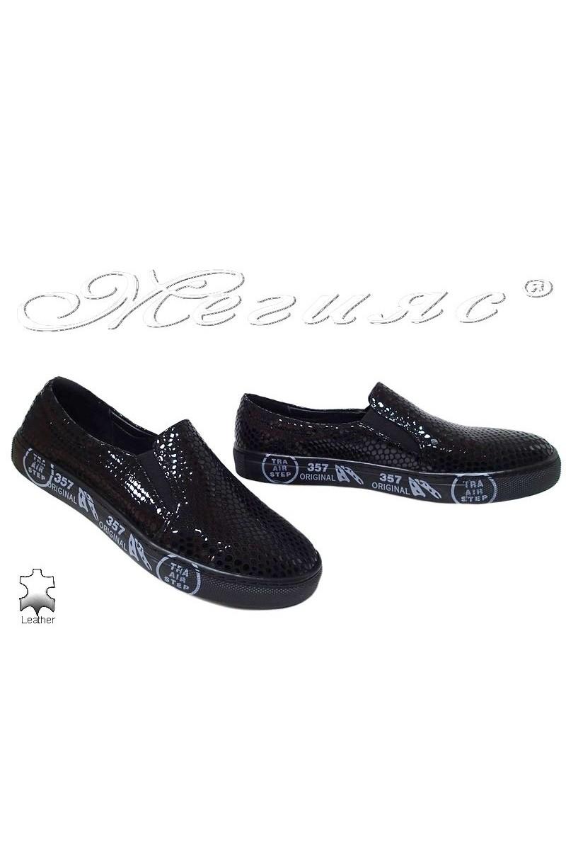 Men sport shoes 692-267 black lak