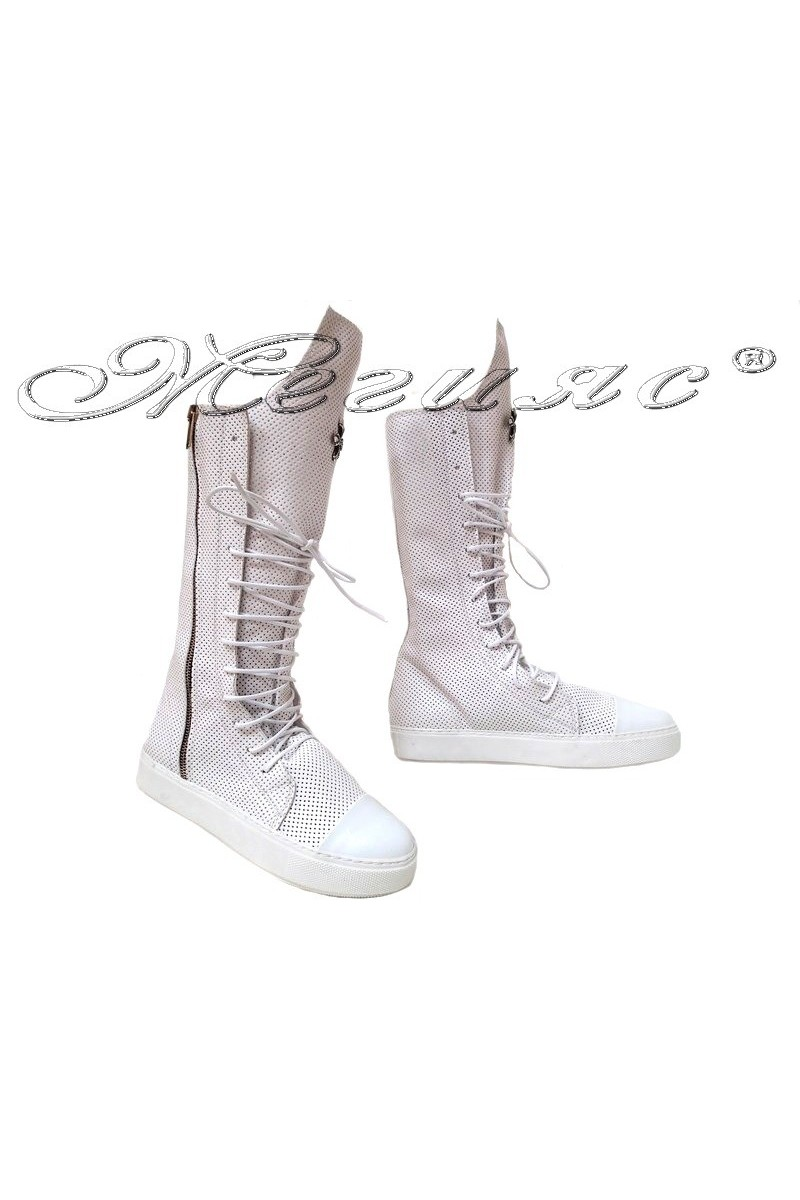 Lady boots 1303 white