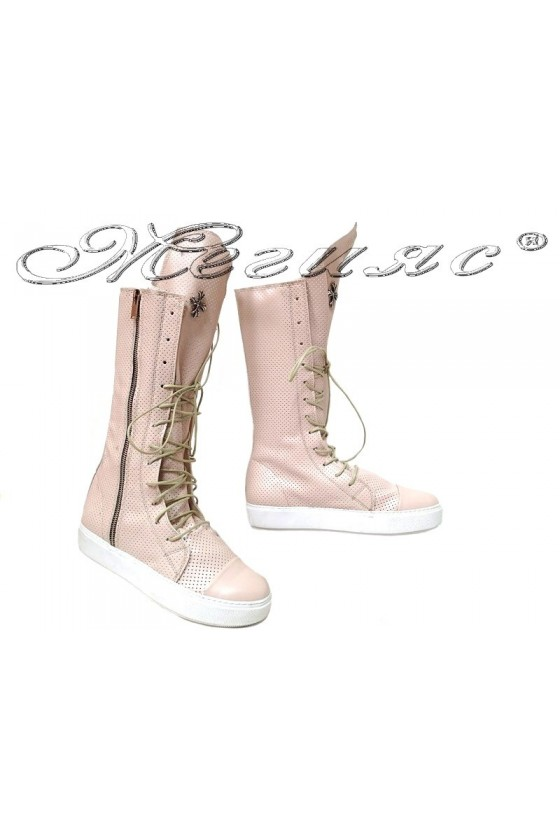 Lady boots 1303 beige