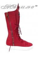 Lady boots 1303 red
