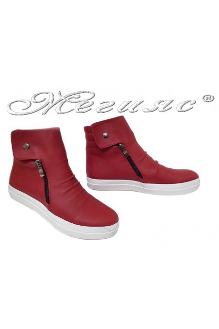 Lady boots 35 HARY red