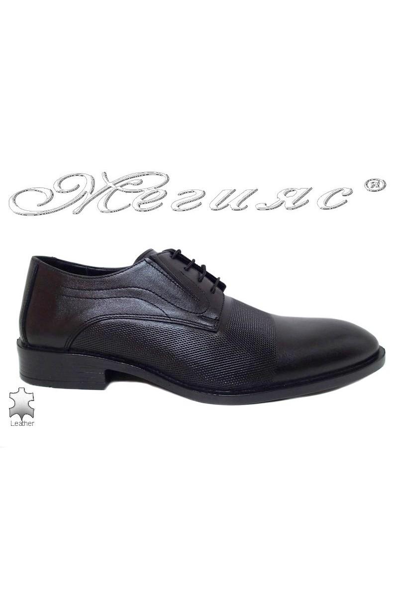 Men shoes FANTAZIA 5139 black leather