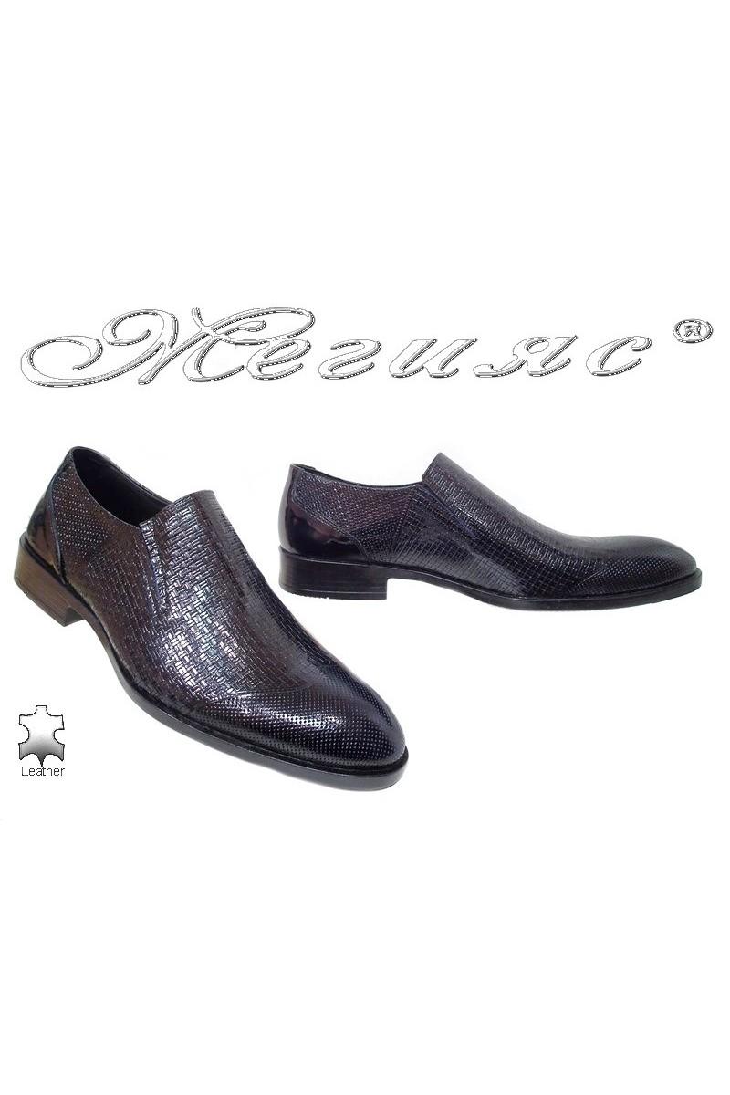 Men shoes FANTAZIA 315-010 black leather