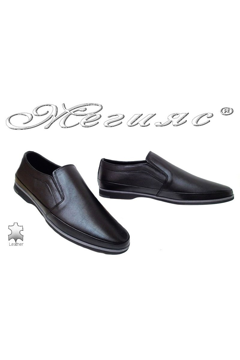 Men shoes FANTAZIA 16100 black leather