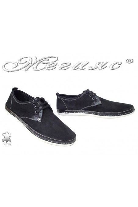 Men shoes FENOMEN 221 black leather