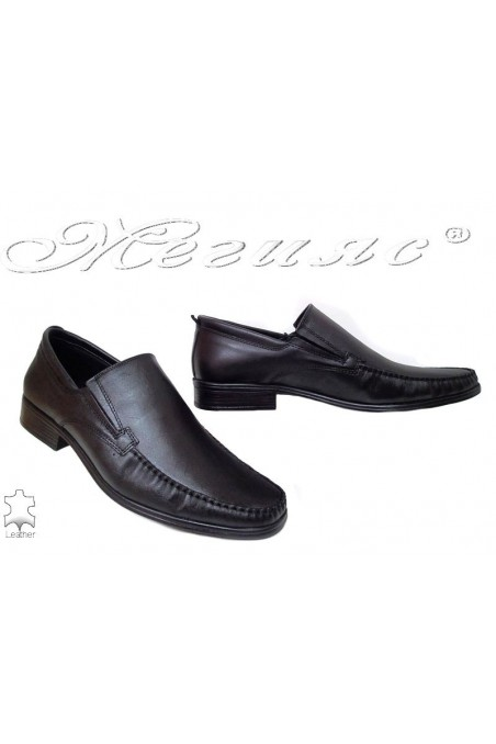 Men shoes 06 black lether