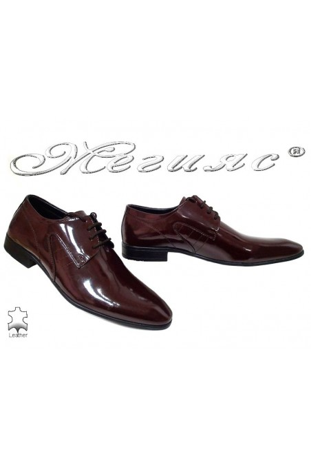 Men shoes ATO 0505 bordo leather
