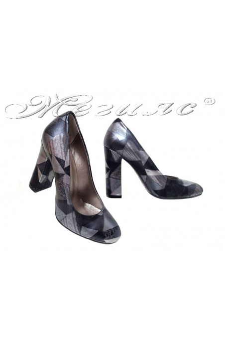 Women elegant shoes 77 black/grey