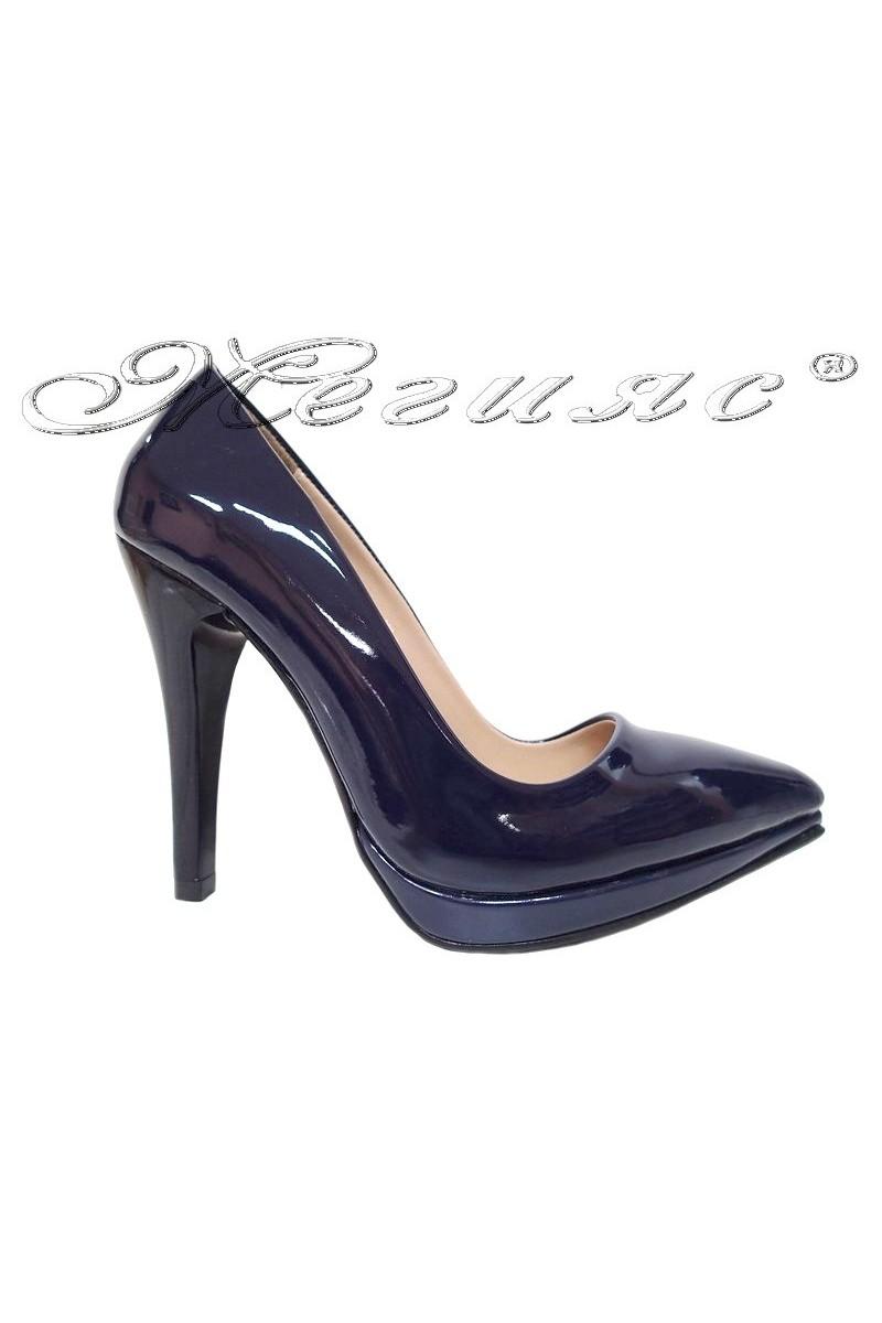 Lady shoes 530 blue