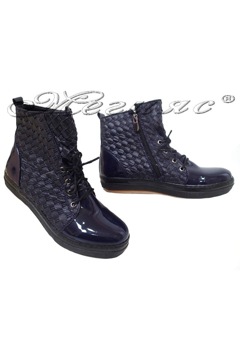 Lady boots HARY blue