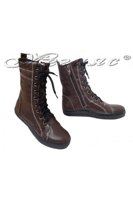 Lady boots HARY brown