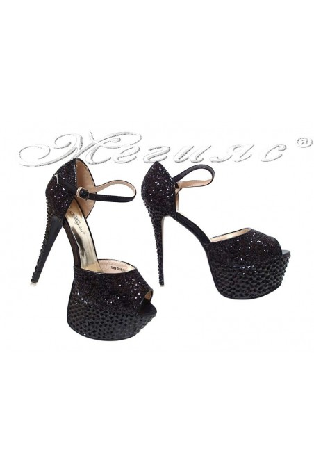 Lady shoes LINDA 20S16-350 black