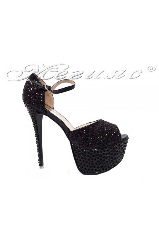 Lady shoes LINDA 20S16-350 black