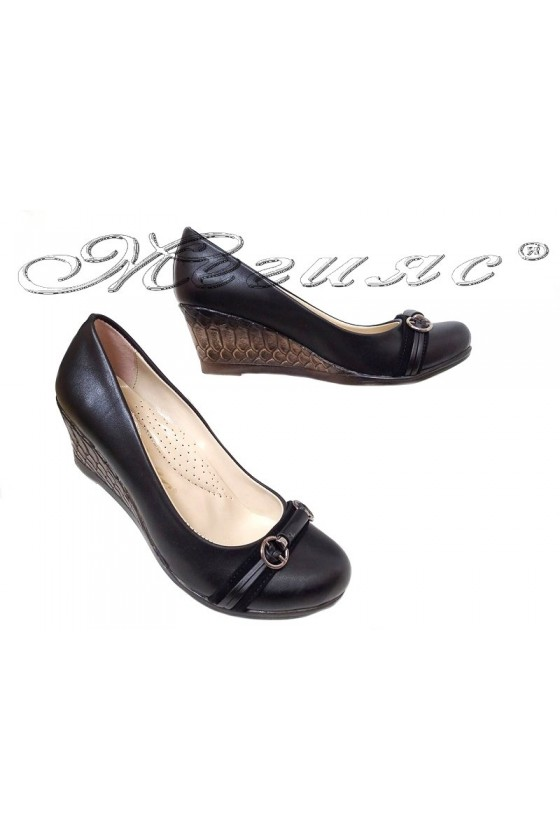 Lady shoes 5726 black