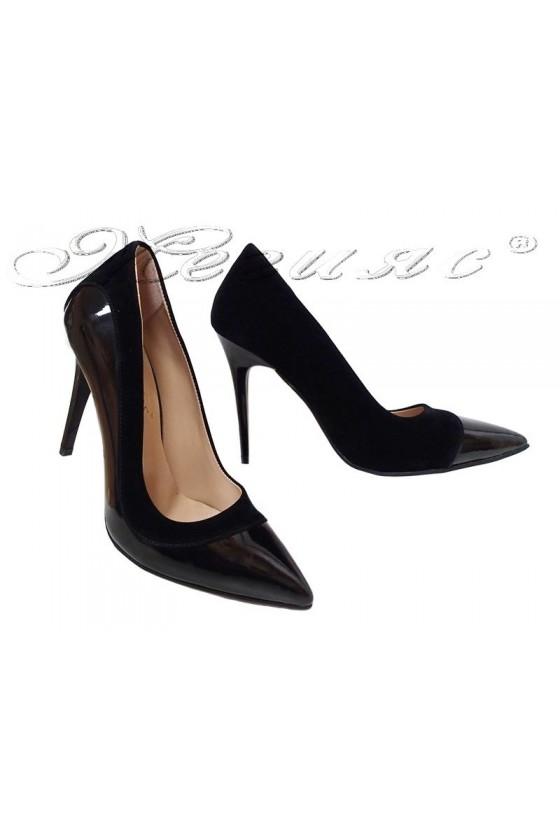 Lady shoes 16/302 black