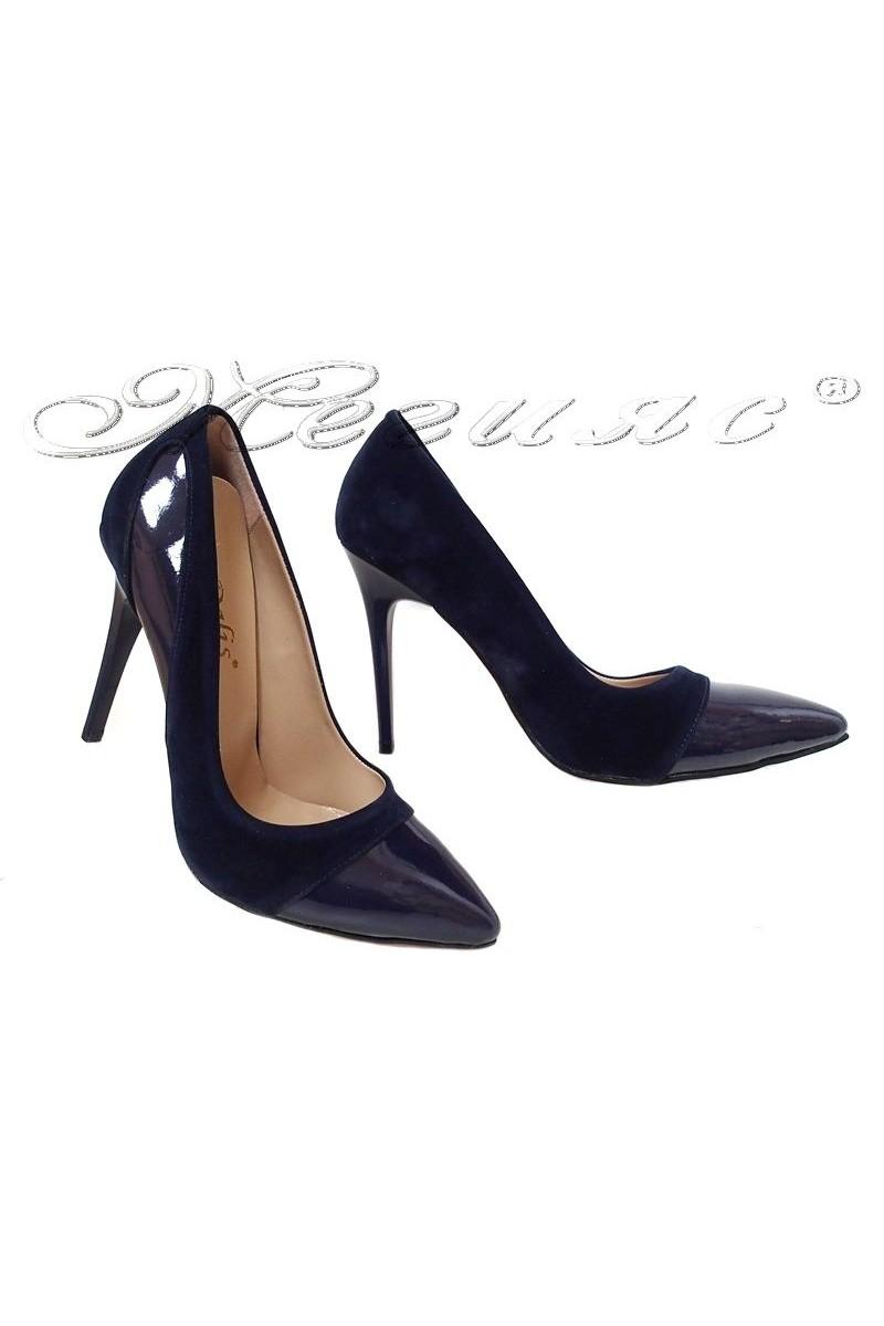Lady shoes 16/303 blue