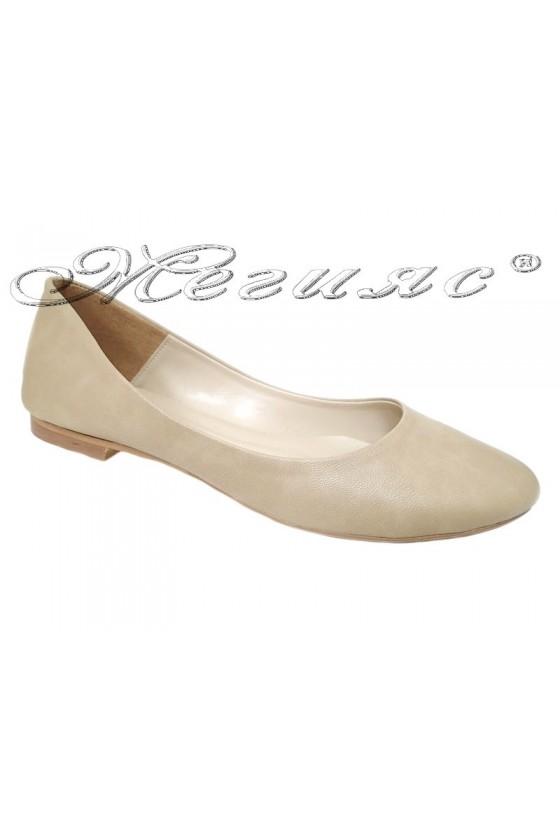 Lady shoes  101-62 beige