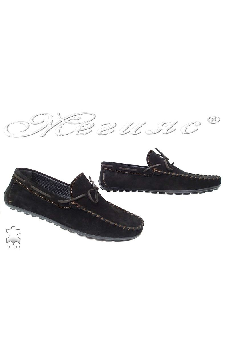 Men shoes 01 brown leather