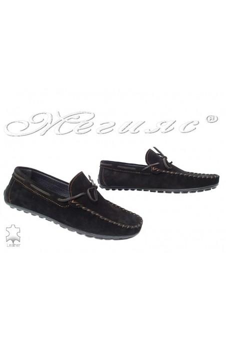 Men shoes 01 black leather