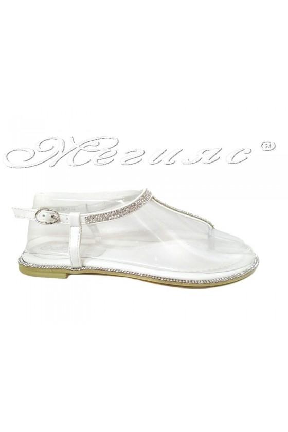 Women sandals  LINDA 20S16-352 white pu
