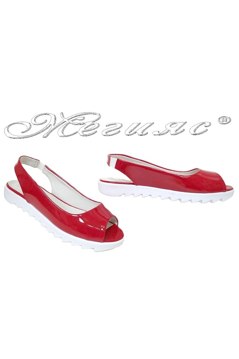 Lady sandals 369 red