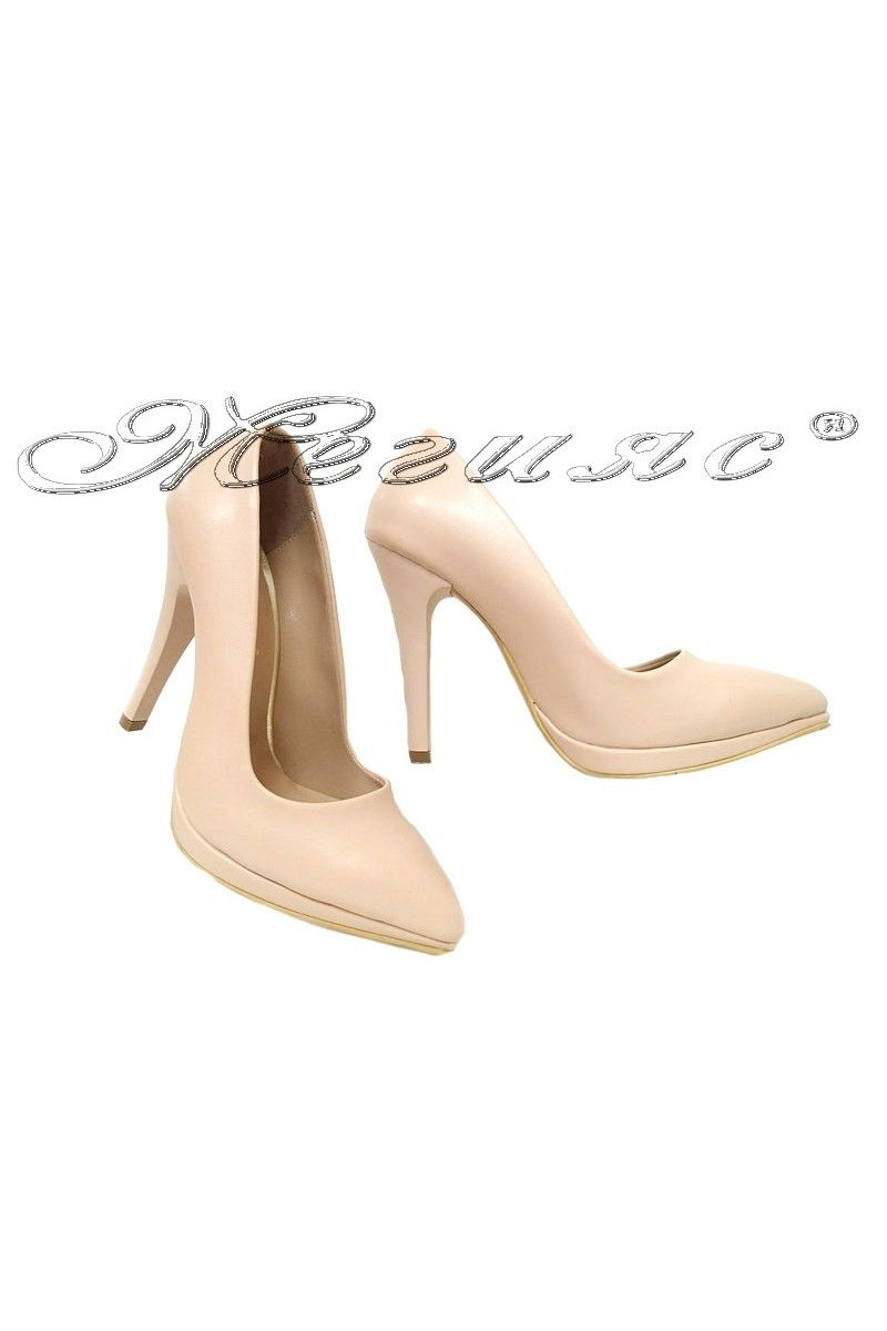 Lady shoes 530 beige