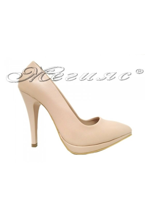 Lady shoes 530 beige