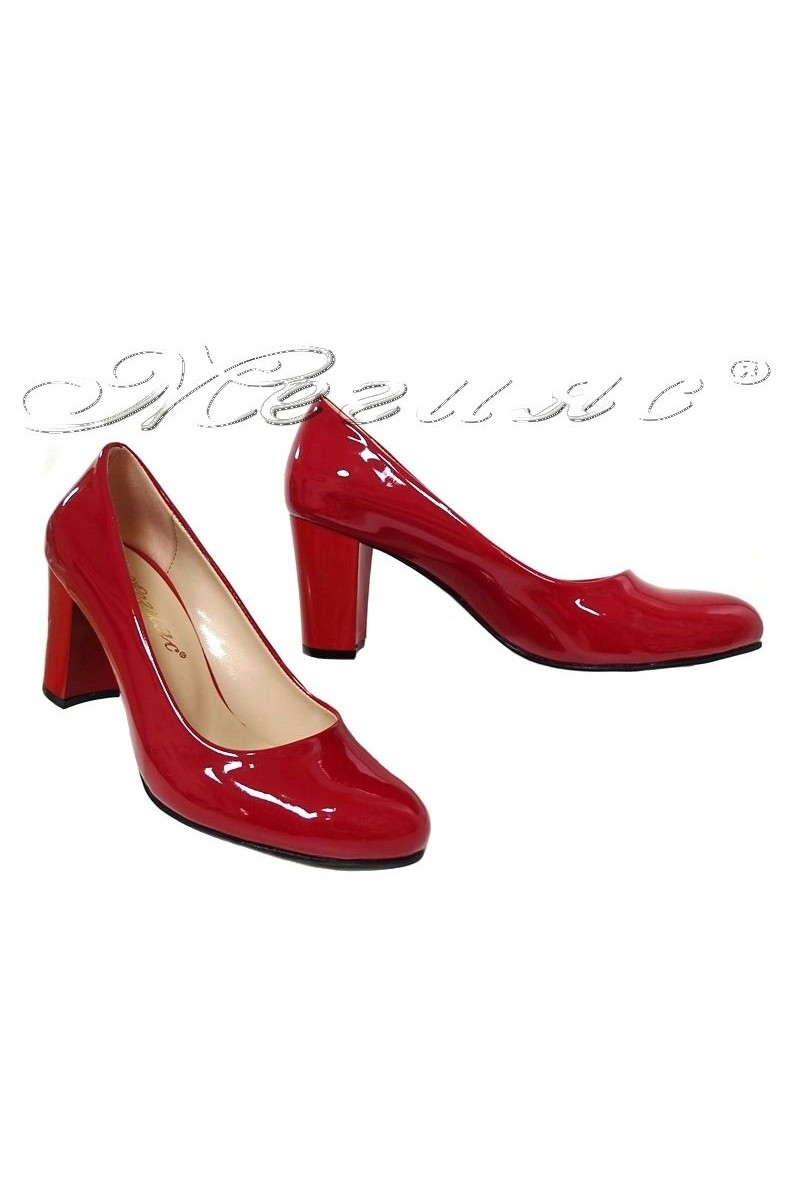 Women shoes 99 red patent
