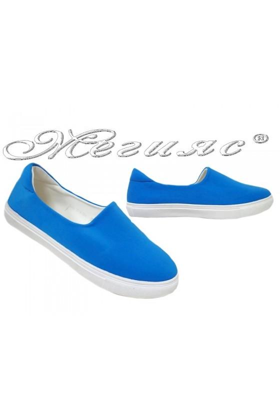 Lady shoes 2016-354 blue
