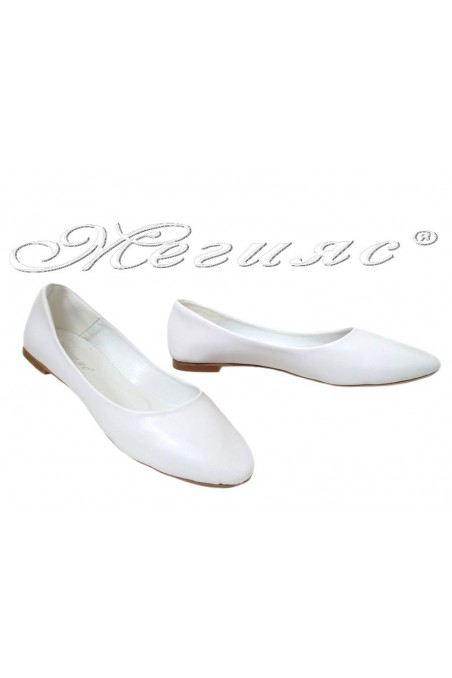Lady shoes XXL 101 white pu