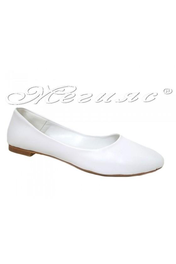 Lady shoes XXL 101 white pu