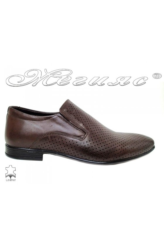 Men's shoes 0050 620 brown leather
