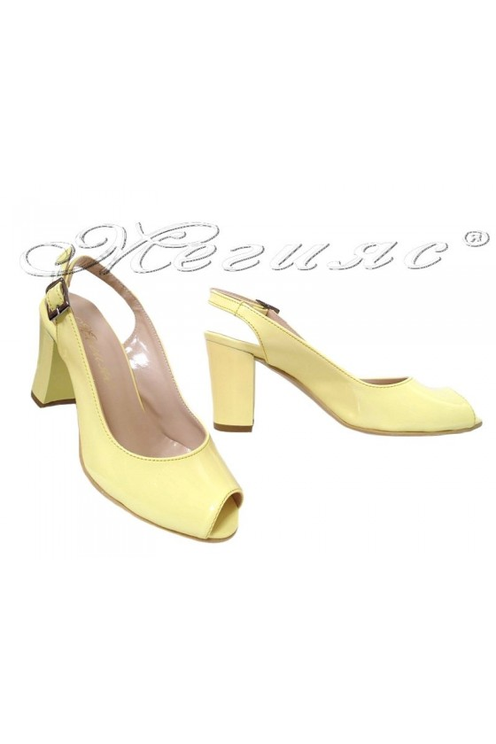Lady elegant sandals 95 lemmon patent