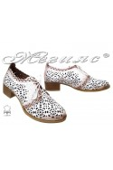 Lady shoes 1926 white leather