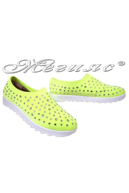 Lady sport shoes PRINCES yellow