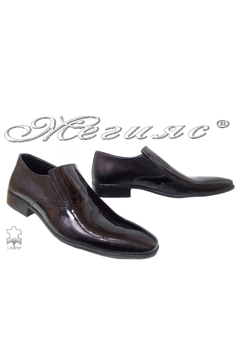 Men shoes FANTAZIA 14-57 black leather