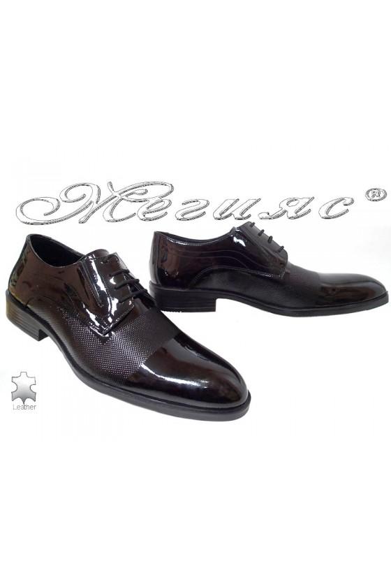 Мъжки обувки Фантазия 5139 черни естествен лак