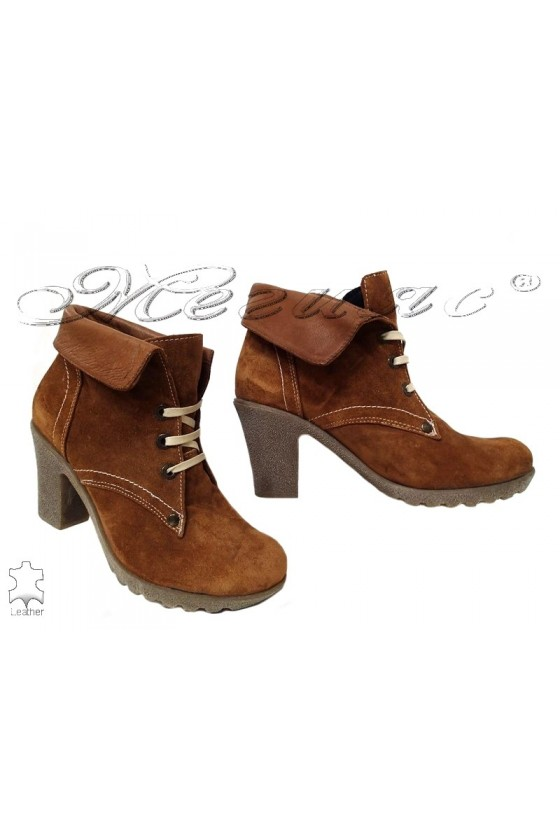 Lady boots 150 brown leather