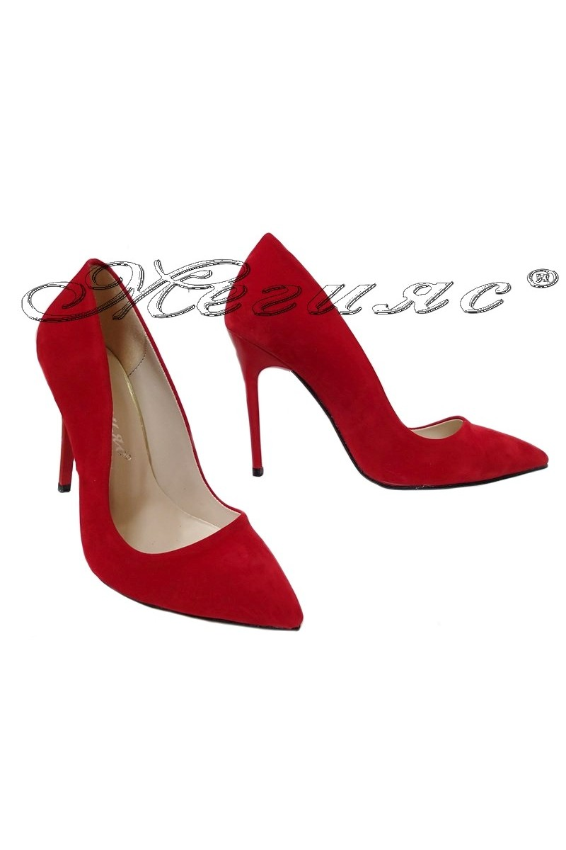 Lady shoes 5596 red
