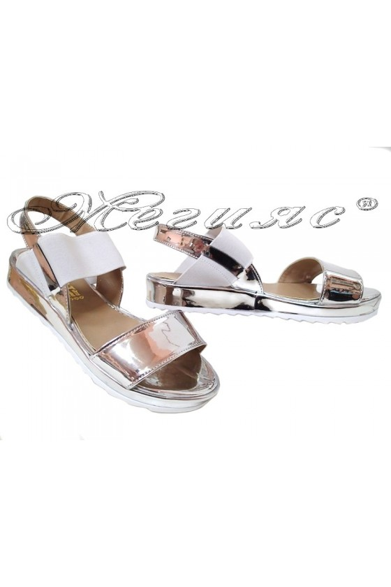 Lady sandals 015 silver