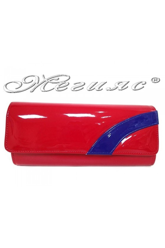 Lady bag 751 red with blue