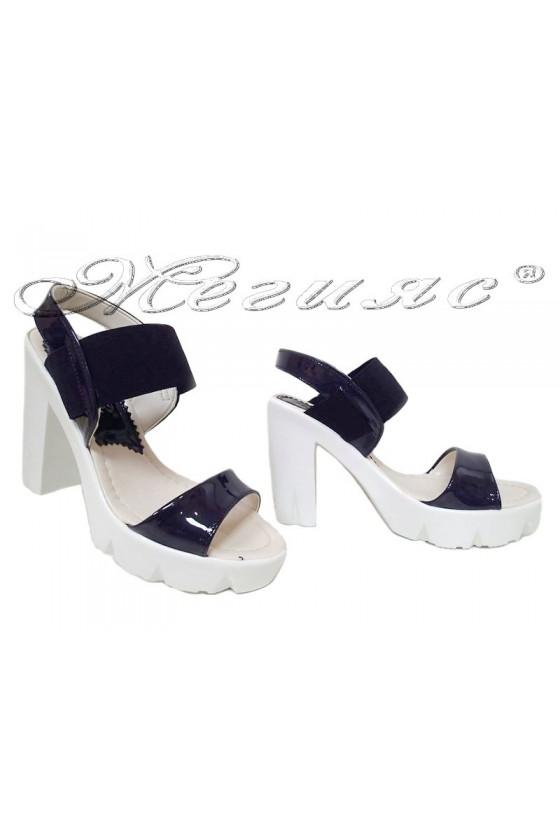 Lady sandals 065 blue