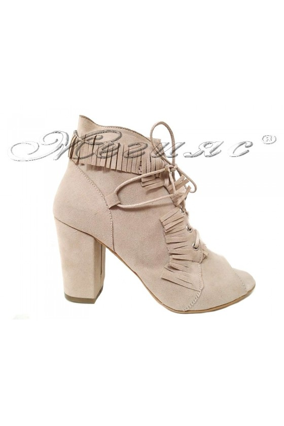 Lady summer boots 1516 beige