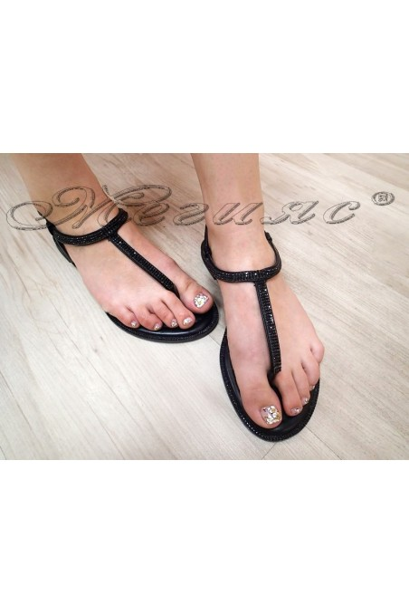 Women sandals LINDA 20S16-352 black pu