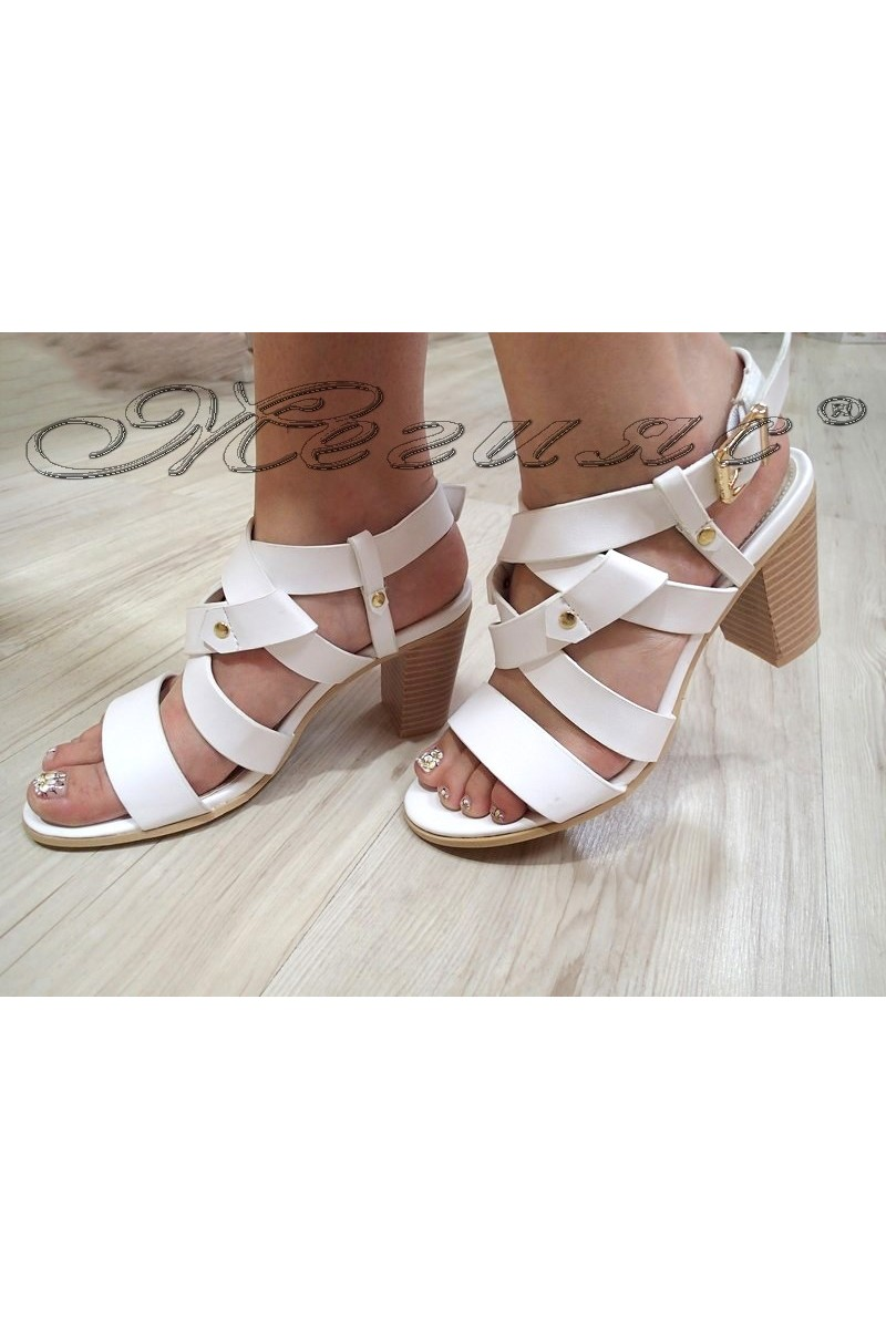 Lady sandals 2016-128 white
