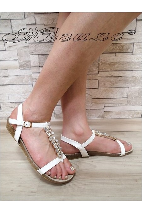 Women sandals MASS 20S16-124 white pu