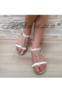 Women sandals MASS 20S16-124 white pu