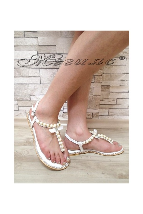 Lady sandals 2016-44 white