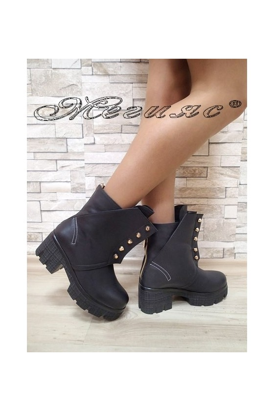 Lady boots Christine 2017-237 black pu