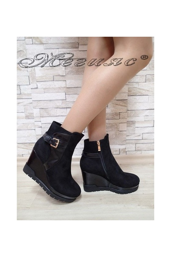 Lady boots Christine 2017-139 black suede